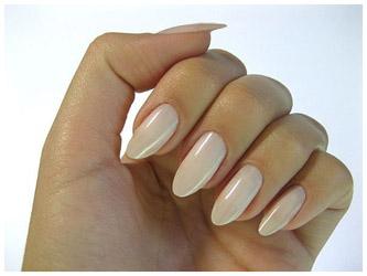 Ногти круглой формы дизайн